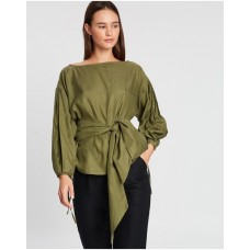 Girl's Batwing Top Autark Olive the best NYJOLFH