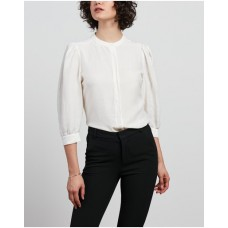 Girl's Kerry Shirt Farage White Loose Fit The Most Popular XWXYMVV