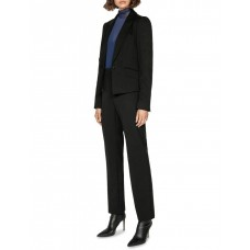 Cue Women One Button Classic Blazer Black Deals PNLXPAW - 66% Recycled Polyester 32% EcoVero Viscose 2% Elastane