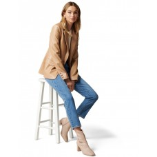 Forever New Women's Renee PU blazer Camel In Sale SHEPNYQ - 100% Polyester with Polyurethane coating. Lining: 94% Polyester 6% Elastane