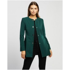 Girl's Suzanne Coat Atmos&Here Forest Green Trending PZUQWUH