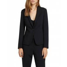Oxford Womens Chica Eco Black Suit Jacket Black Large Trend RPFNRUK - 68% Recycled Polyester 27% Viscose 5% Sp