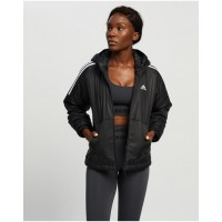 Women's Essential Insulated Hooded Jacket adidas Performance Black JMCCTZF