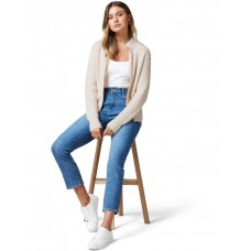 Forever New Women's Kate Zip Through Knit Cardigan Oatmeal Marle Size XXXL The Best Brand ZIHCVTC - 37% Polyester 24% Polyamide 20% Acrylic 19% Wool