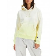 Champion Women Reverse Weave Ombre Hoodie Yellow Ombre guide WEPYNMS - Cotton Polyester (Exclusive Of Trims).