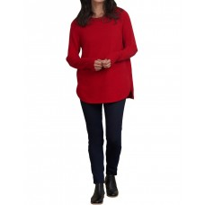 Blue Illusion Women Stitch Detail Cotton Knit ROUGE in new look GHWWUOI - 100% organic cotton