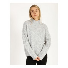 Piper Womens Bobble Sweater Grey Holiday e fashion OQIIEPZ - 71% Polyester 23% Acrylic 6% Wool