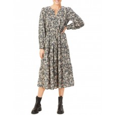 French Connection Women Paisley Tiered Dress Assorted Wedding TOILBFZ - 100% TENCEL™ Lyocell Fibres