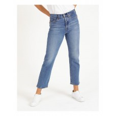 Levi's Womens Wedgie Straight Jean Jive Sound Size Is 27 Boutique YUYLLBK - 99% Cotton; 1% Elastane