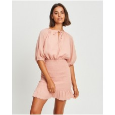 Girl's Meiere Mini Dress The Fated Dusty Rose HIERAYQ