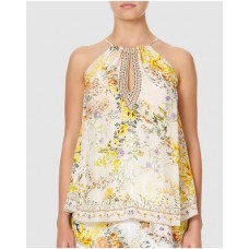 Girl's Flared Cami with Neck Tie Camilla In The Hills of Tuscany Selling Well RIPMRFL