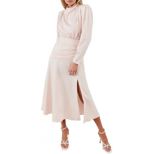 Misha Collection Womens Simona Dress Blush Holiday outlet MJRCPZP - 100% Polyester