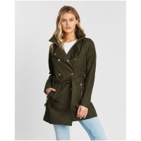 Girl's Welsey II Trench Helly Hansen Forest Night Online Wholesale GZAILMD