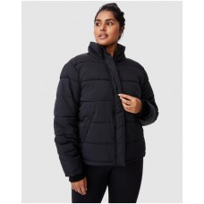 Women's Curve Crinkle Puffer Jacket Cotton On Curve Black Extreme cold for sale near me BFQUTHG