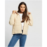 Women's Essential Puffer Jacket All About Eve WHITE Warm Comfort HYVFSRP