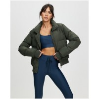 Women's Nareli Insulated Jacket The Upside Dusty Olive Extreme cold new in DGMDVZT