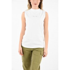 Alyx Women's Printed Cotton Sleeveless A SPHERE Top P289374 CMZJHZP