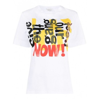 Women's CHLOÉ Printed Cotton T-shirt For Sale 847568188 EMGMFRG
