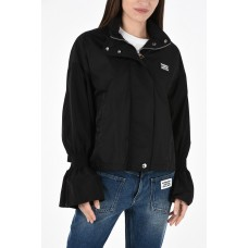 Burberry Women Removable Hood Windbreaker Lightly Quilted P298524 CQCKFDQ