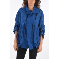 Colville Women's Drawstring Oversized Rain Jacket Lightly Quilted P317309 FWACFTC