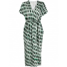 Clothing Dries Van Noten Printed Long Dress Going Out 845521126 TVRUINJ
