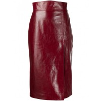 Women's Clothing GUCCI Leather Skirt Plus Size Best 844593886 NKFMCGN