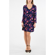 Armani Women ARMANI EXCHANGE abstract print Flared Dress Plus Size most comfortable P297000 SCLIYDG