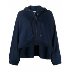 Girl's Clothing LOEWE Cotton Oversized Zip-up Hoodie Size 18 Cheap 845811079 MMVNKHS