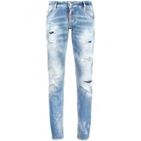Girl's DSQUARED2 Denim Cotton Jeans Casual 847941135 YHVQUIC