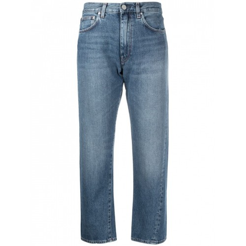 Women's Toteme Twisted Cotton Jeans Size 0 849476193 MHIXQDY