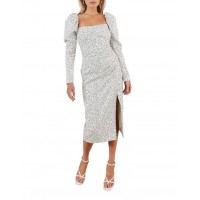 Misha Collection Womens Leticia Dress Spot Print Clearance Sale YYOYMLT - 100% Polyester