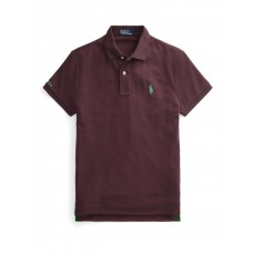 Polo Ralph Lauren Womens The Earth Polo Red Cost OIBFEXP - 100% Polyester (Recycled)